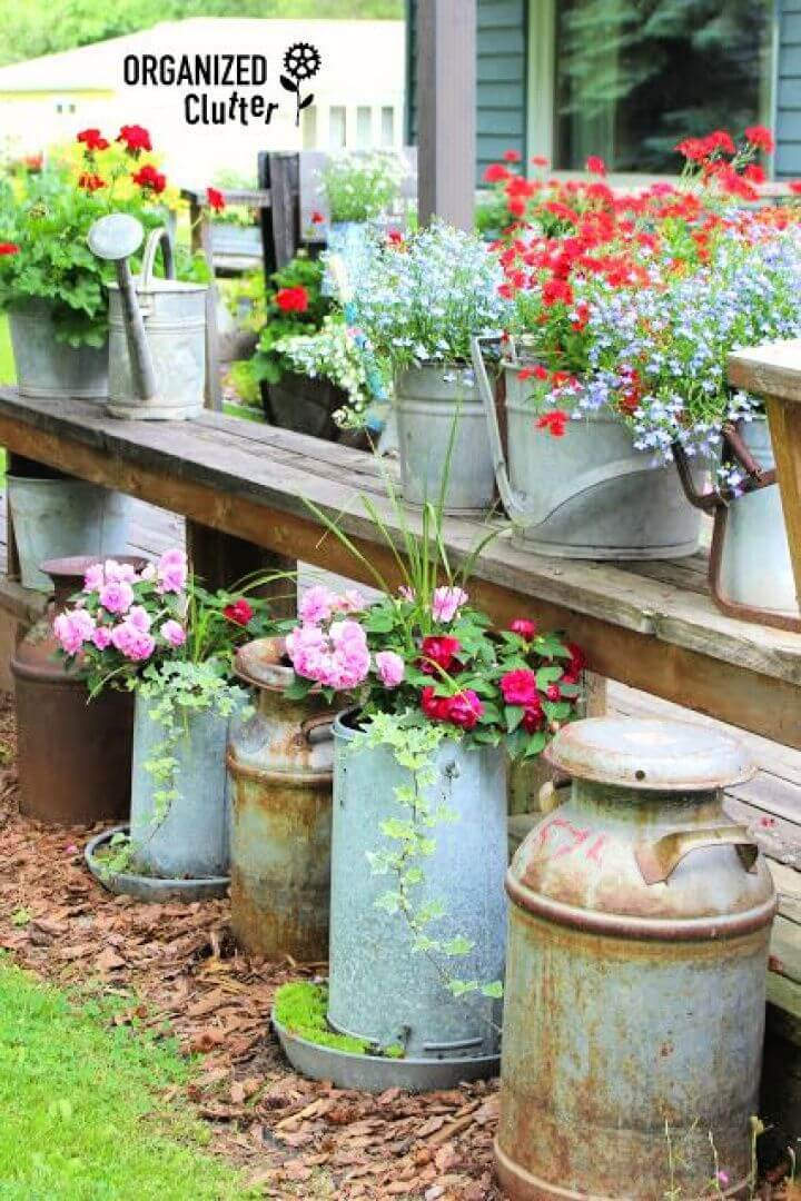 junk garden organized, clutter garden decor projects, diy projects, how to crafts, diy ideas,