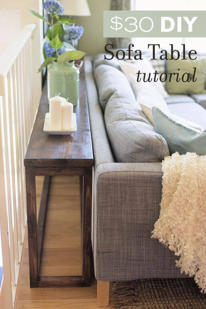 30 DIY Sofa For Living Room Tutorial