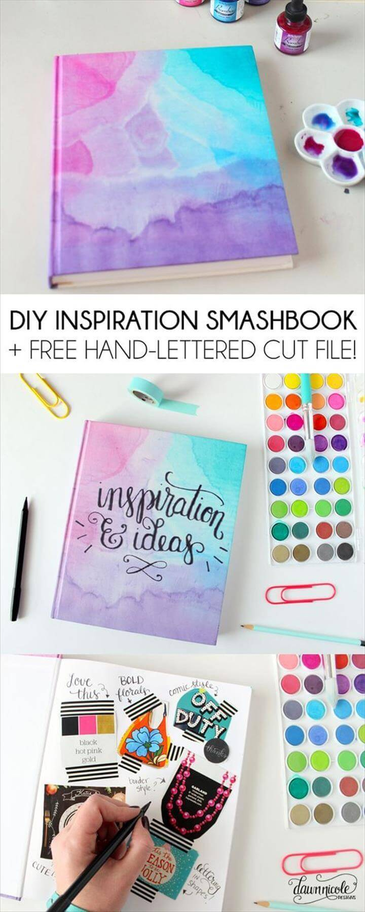 Back To School Inspiration Smashbook