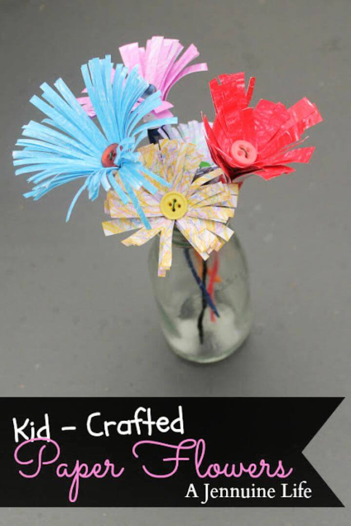 crafts for kids, crafts with paper, cool things to make with paper that is easy,