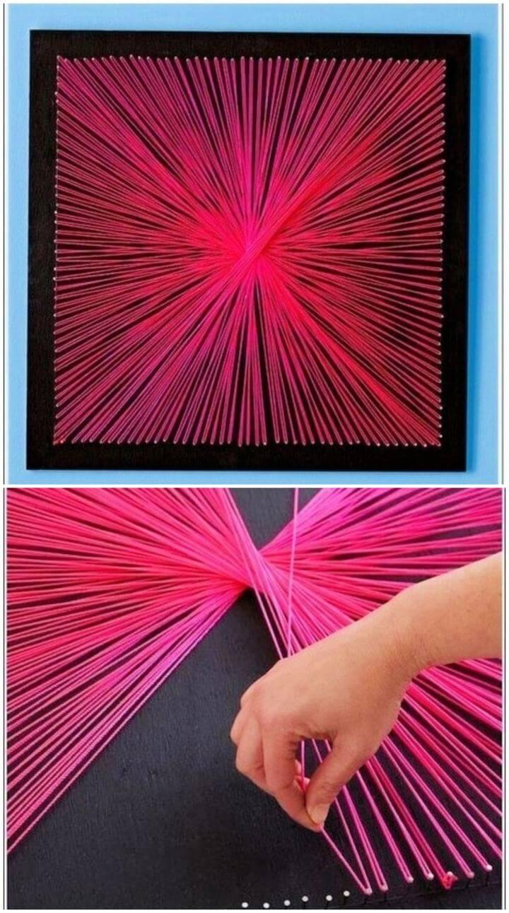 Beautiful DIY String Art Tutorial