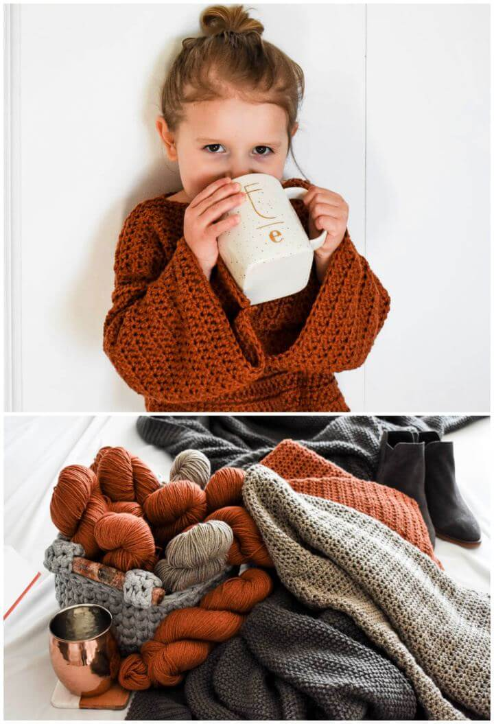 Beginner's Guide To Crocheting Your 1st Sweater