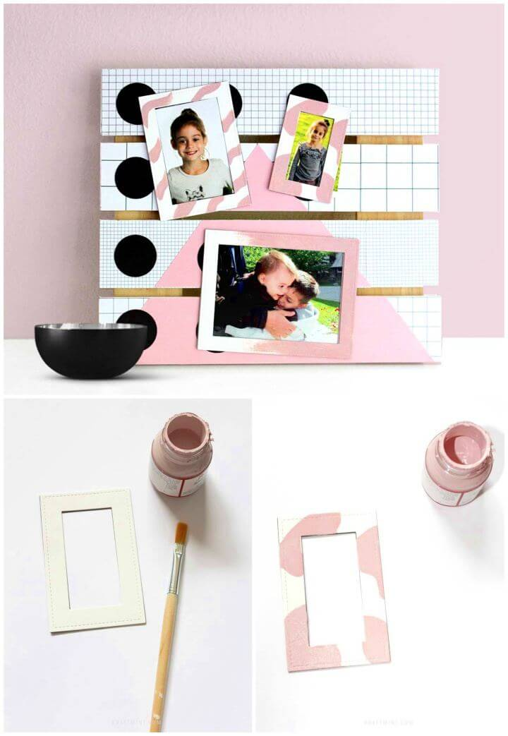 Build A Picture Display with Magnet Frames