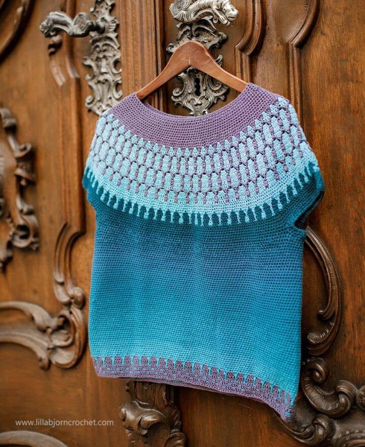 Build Your Own A Crochet Sweater