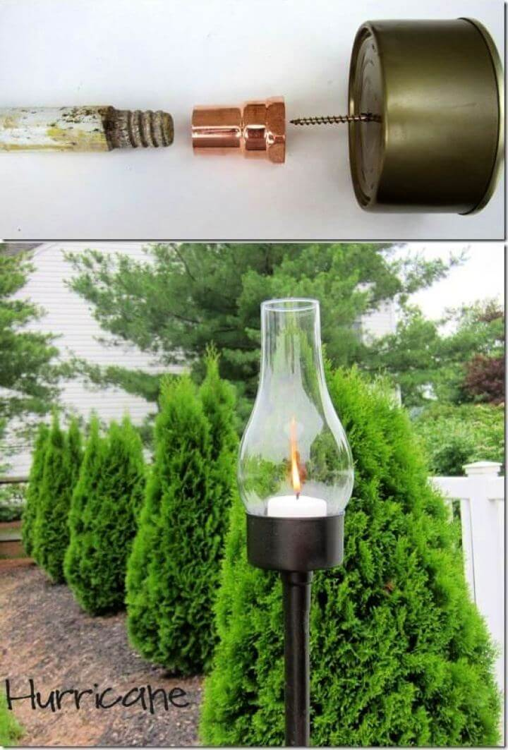 Build Your Own Outdoor Candle Holder