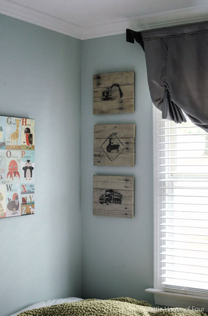 Build Your Own Pallet Sign Photo Transfer Art