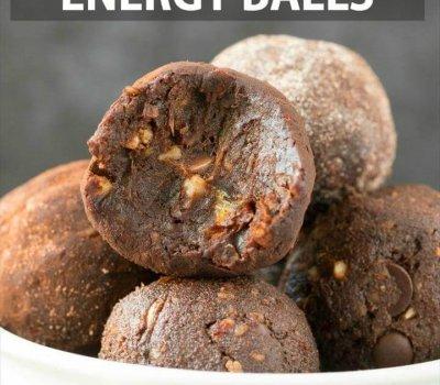 No Bake Whole Energy Balls (Paleo, Keto)