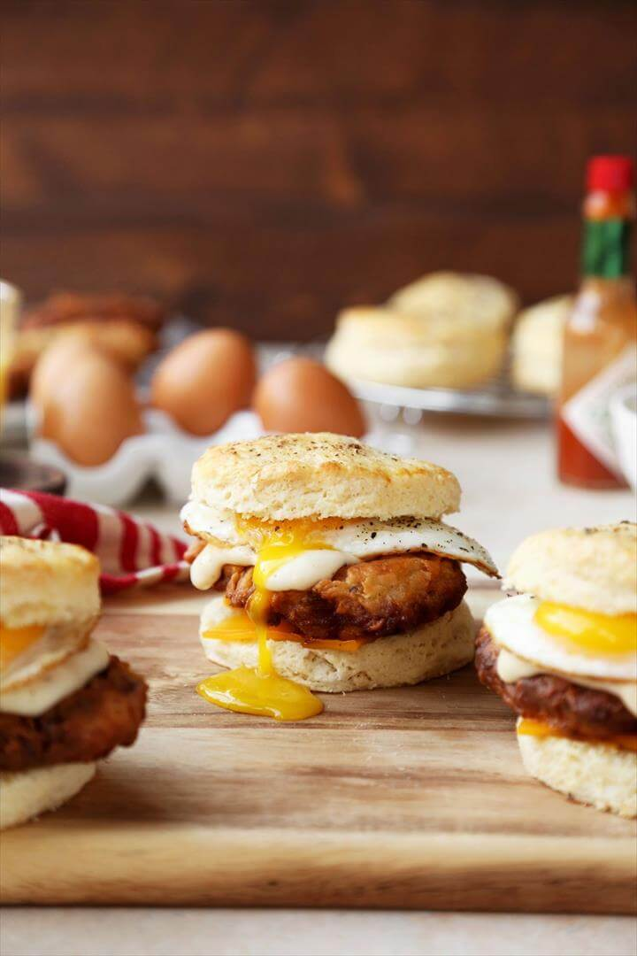 Country Breakfast Sandwiches