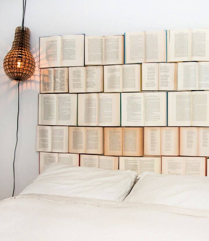 Create Your Own Book Headboard