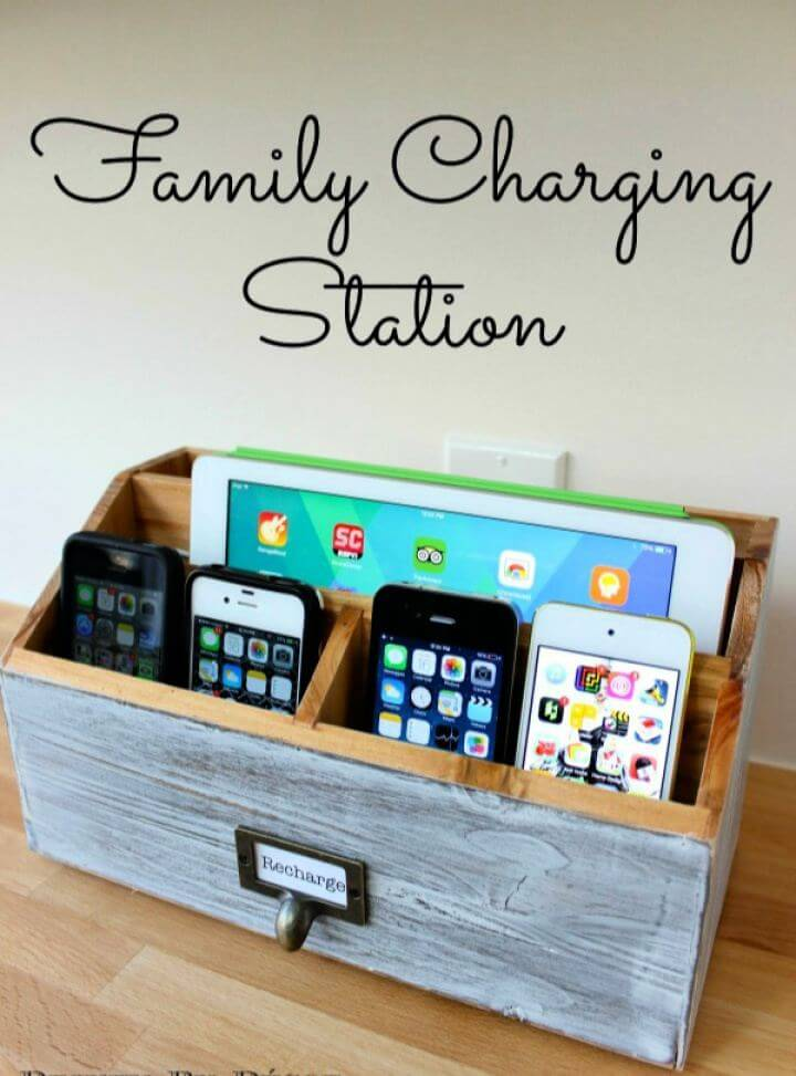 Create Your Own Charging Station Gift For Him
