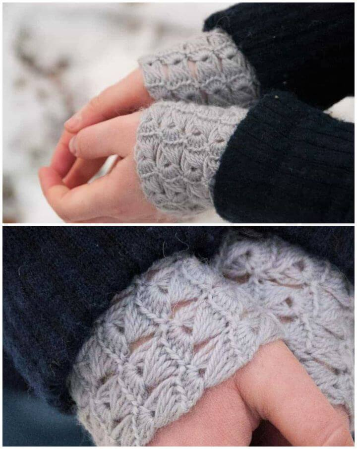 Crochet Delicatus Wrist Gloves