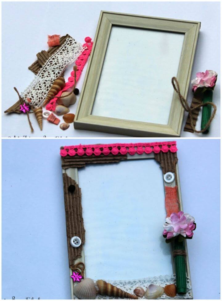 Cute DIY Altered Picture Frame Tutorial