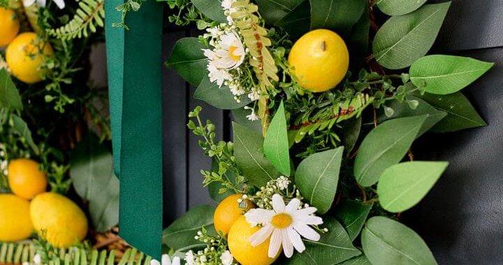 Cute DIY Dollar Store Spring Wreath