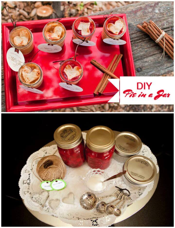 Cute DIY Pie in a Jar Treats