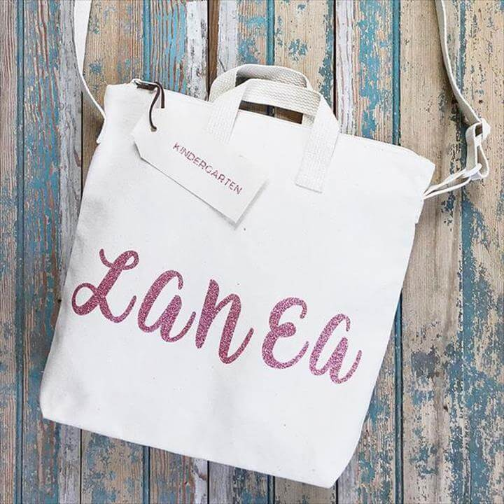 Modern Kindergarten Tote Bag DIY