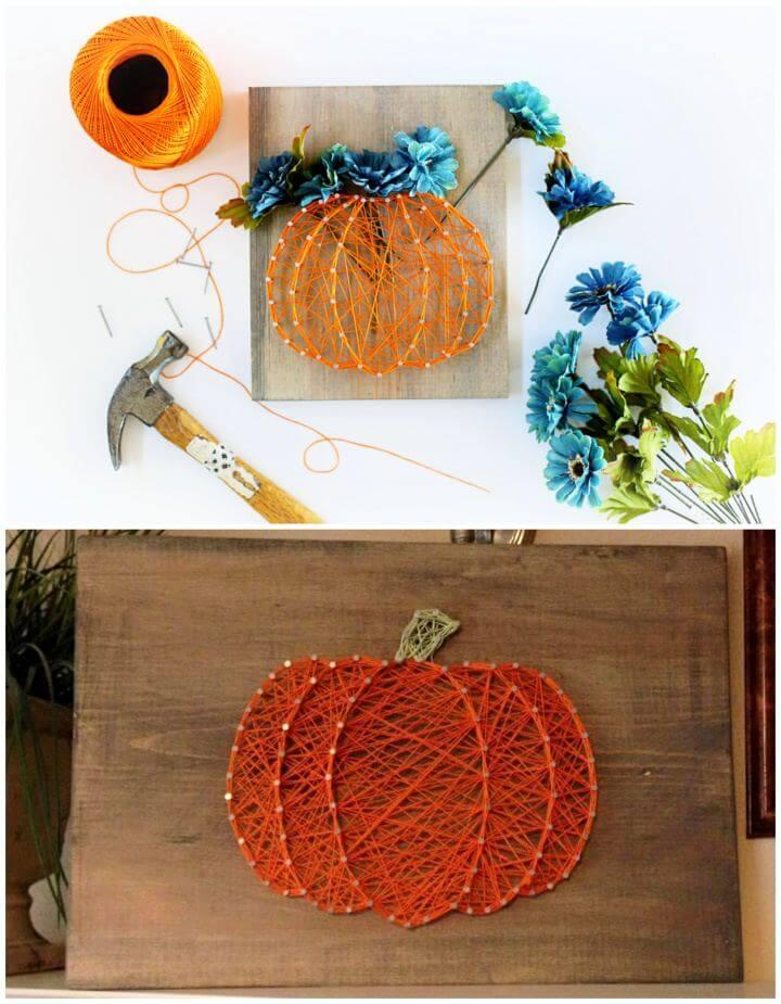DIY Fall String Art Ideas And Tutorial