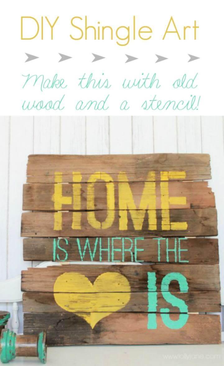 diy home improvement, heart sign, ideas, crafts,
