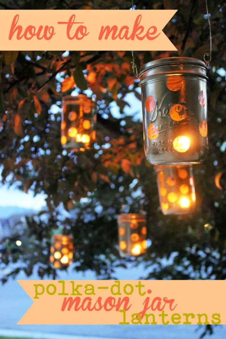 DIY Mason Jar Outdoor Light Tutorial