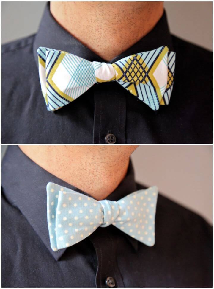 DIY Men's Bow Tie Tutorial