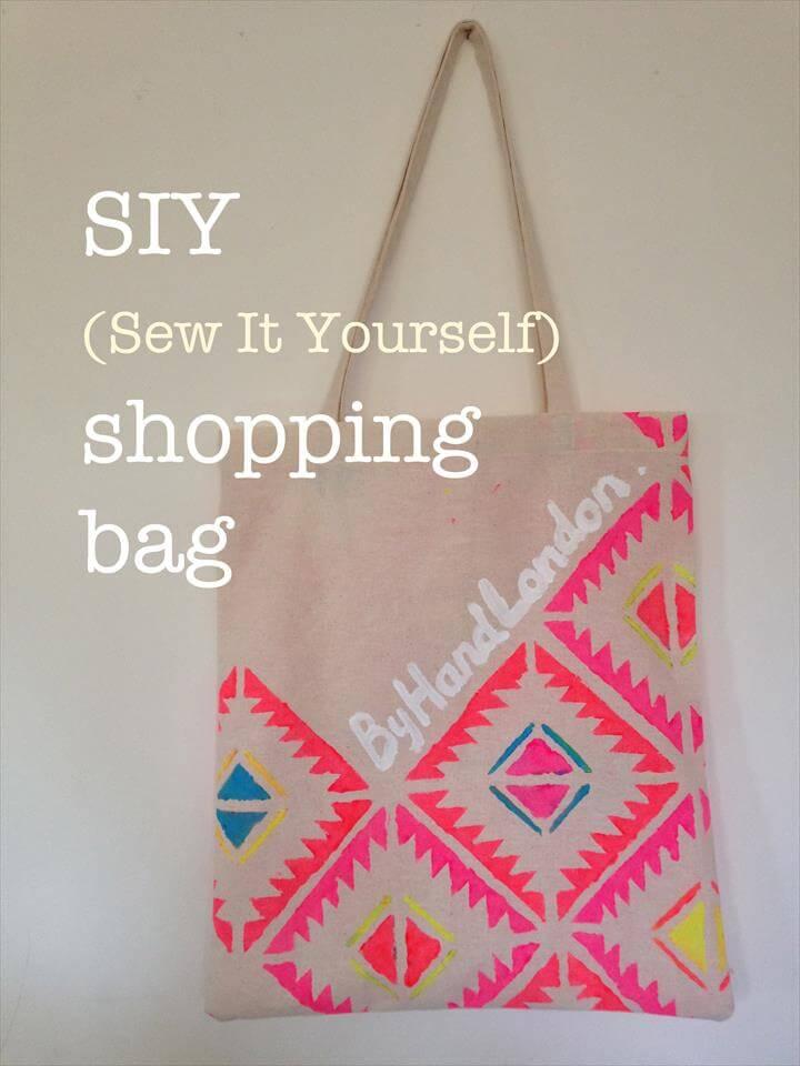 DIY Shopping tote