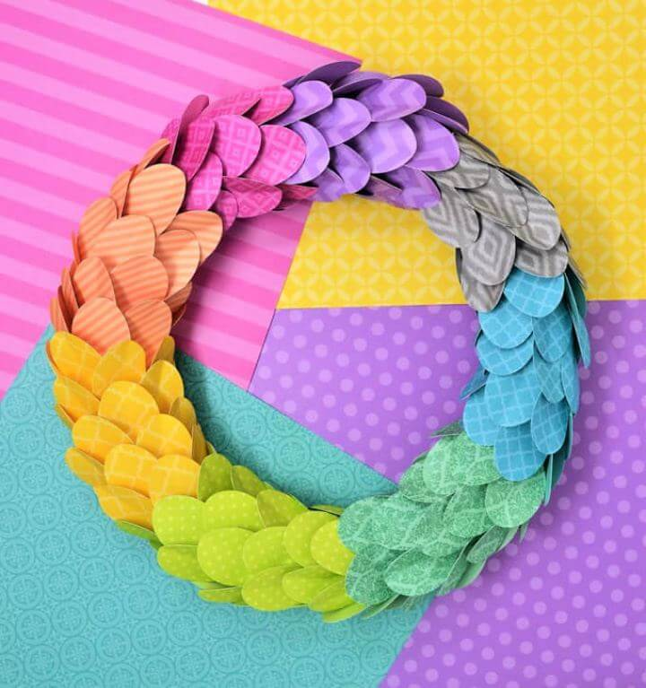 DIY Spring Wreath Idea With Ac Moore