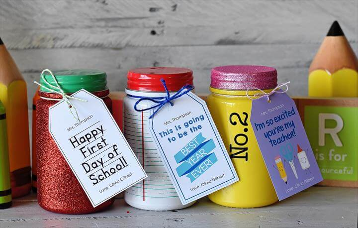 DIY Welcome Back School Gifts