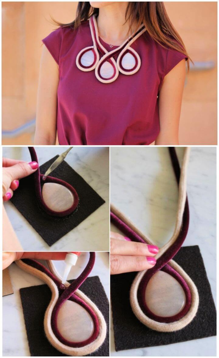 diy necklace holder, diy necklace ideas, diy jewelry ideas,