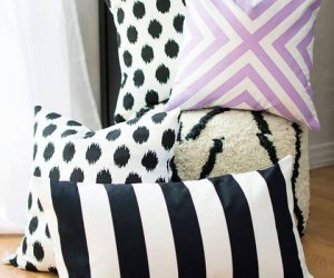 Easy DIY No Sew Pillow Covers For Home