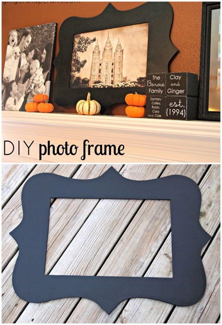 Easy DIY Photo Frame Using Your Silhouette Cameo