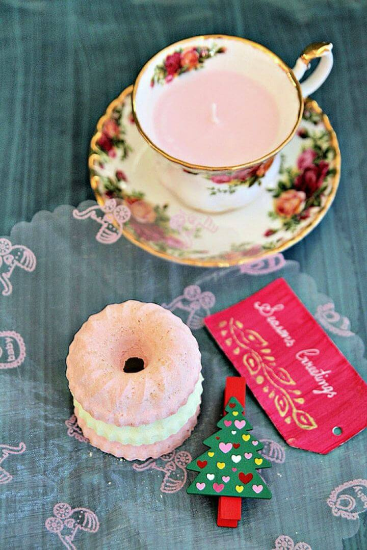 Easy DIY Scented Candles In Vintage Tea Cups