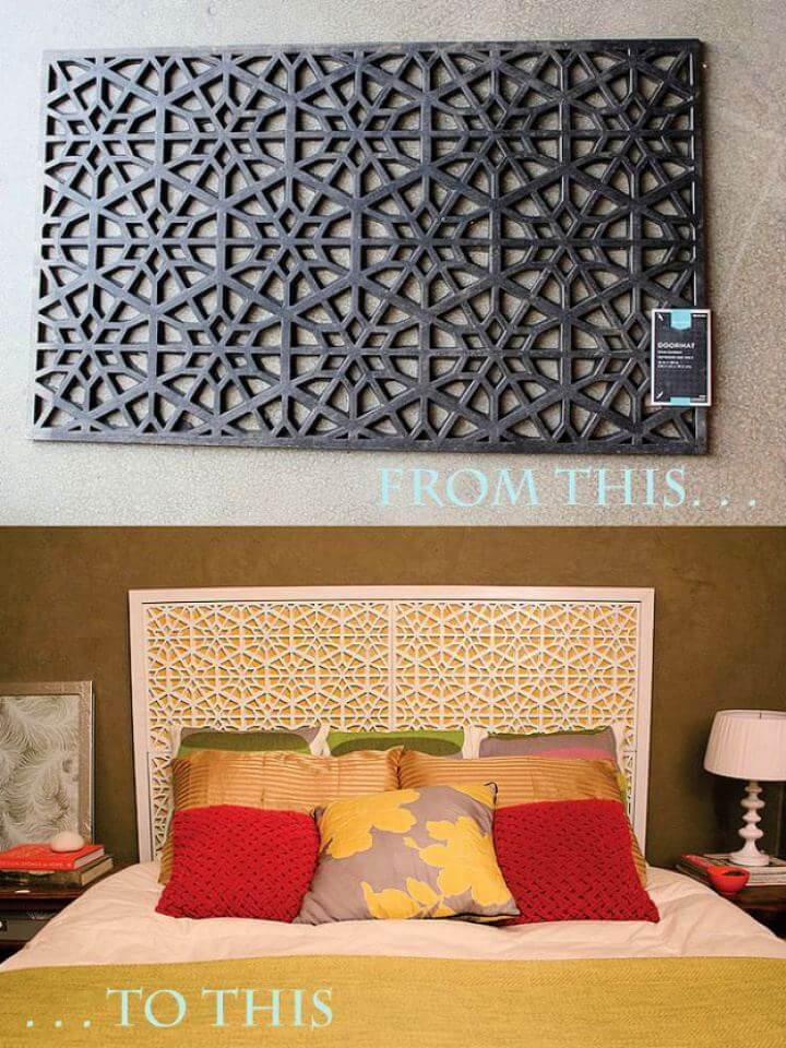 Easy DIY West Elm Morocco Headboard