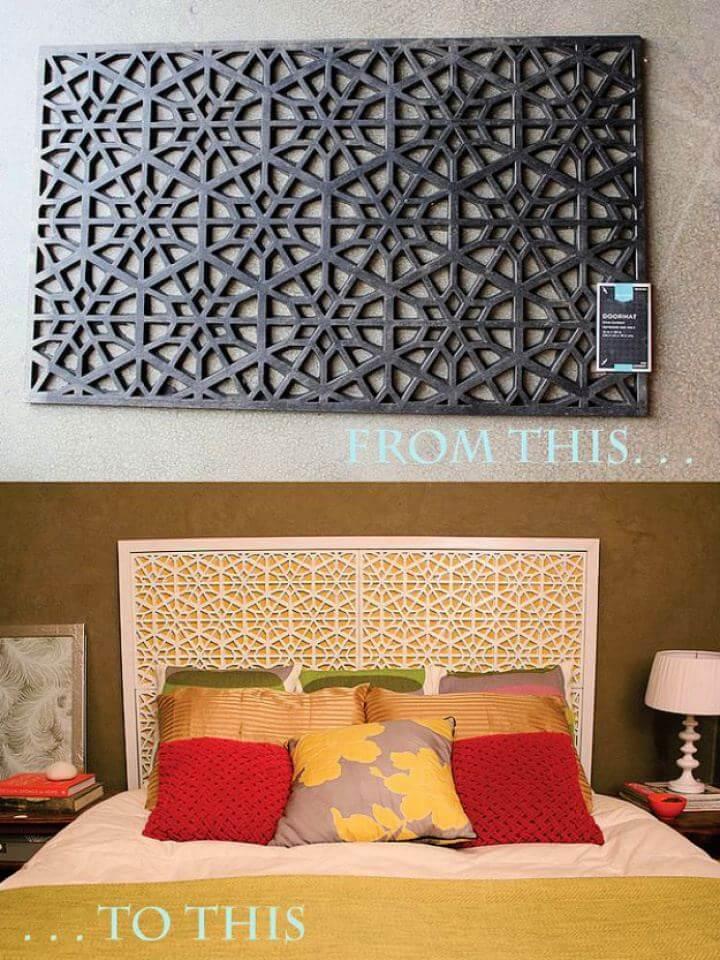 Easy DIY West Elm Morocco Headboard