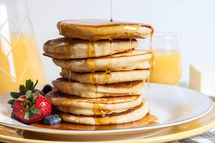 Easy Olive Oil Pancakes