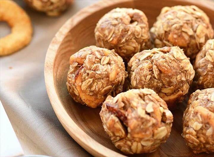 Oatmeal No-Bake Energy Bites