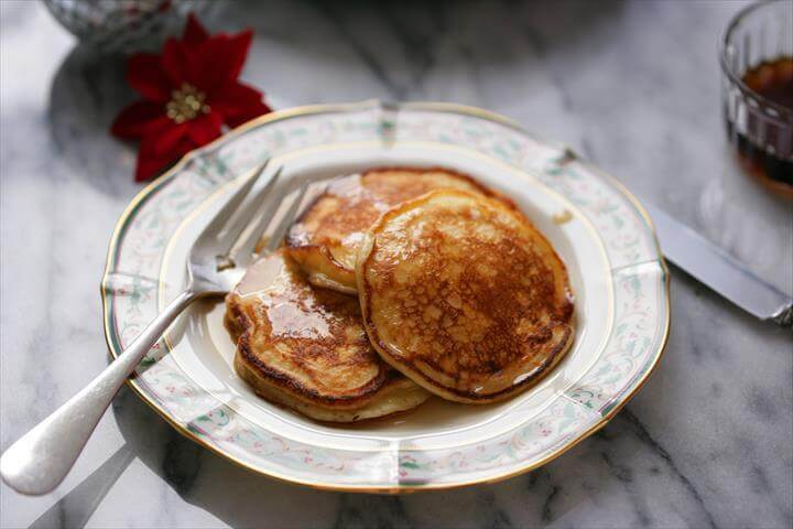 Light, Fluffy and Rich Pancakes Recipe