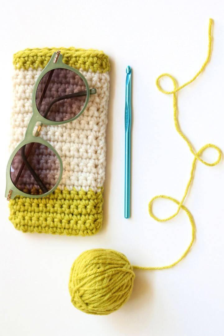 Free Crochet Sunglasses Case For Beginners