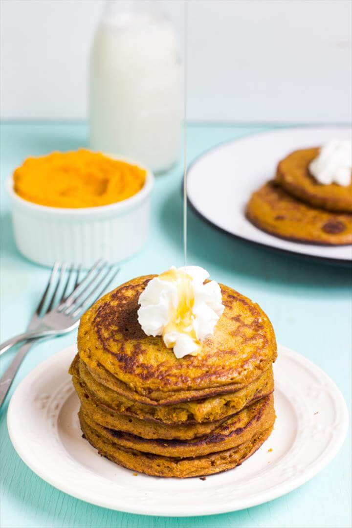 Gluten Free Pumpkin Pancakes · Recipes