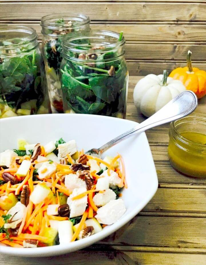 Day Fix Mason Jar Salads
