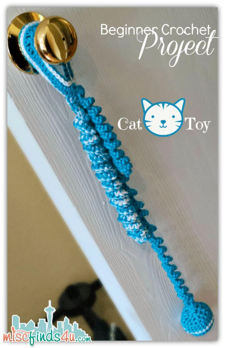 How To Beginner Cat Toy Project and Free Pattern