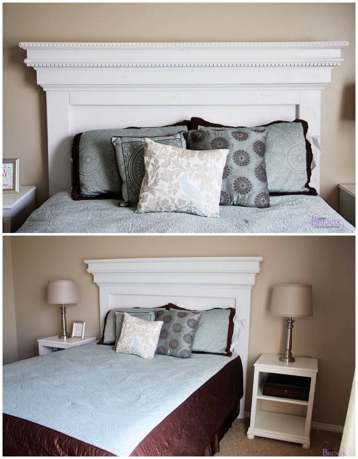 How To Build A Mantel Moulding Headboard