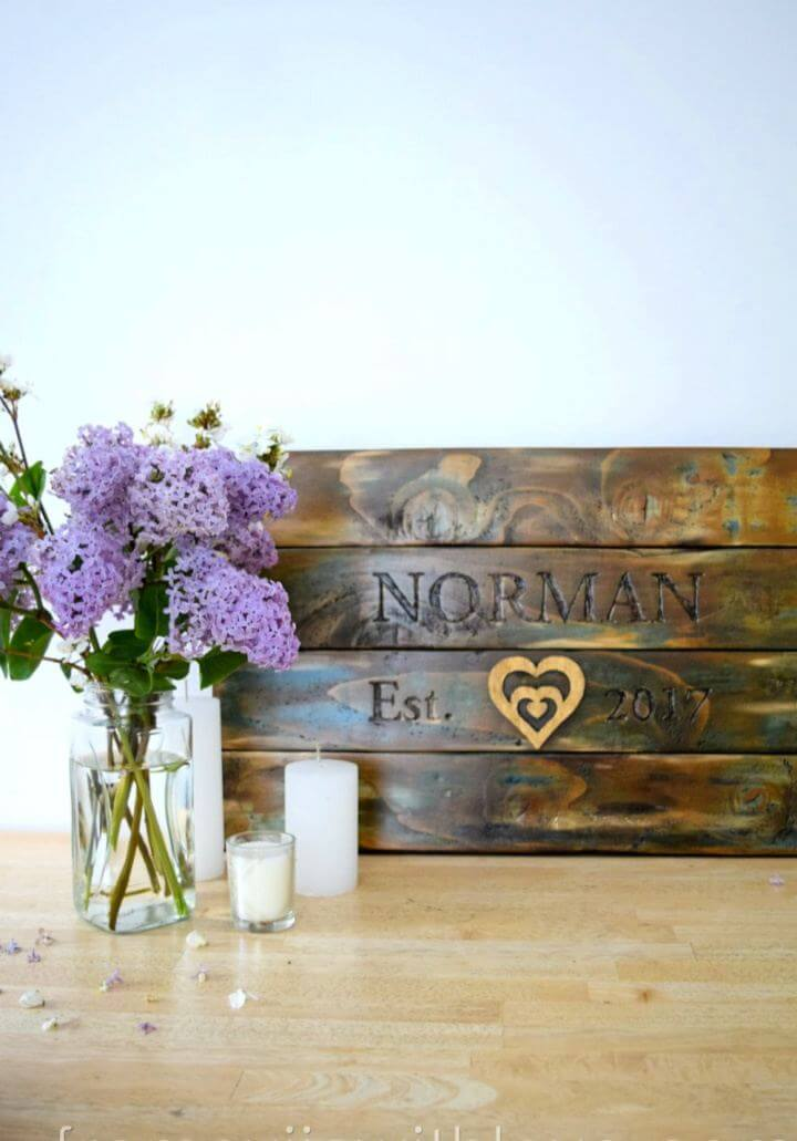 How To Build Wedding Gift Made From Wooden Pallets