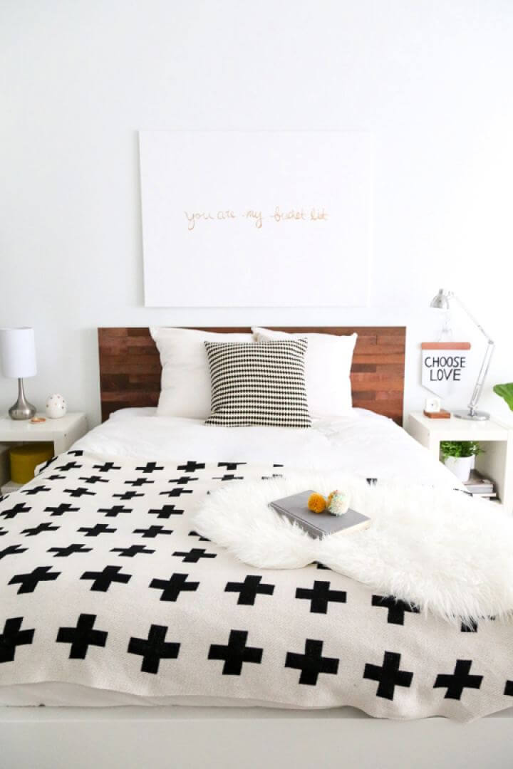 How To Build Your Own Wooden Headboard