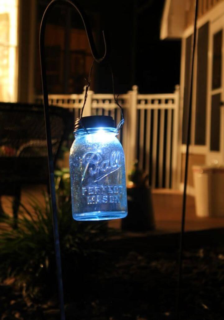 How To Create A Mason Jar Solar Light