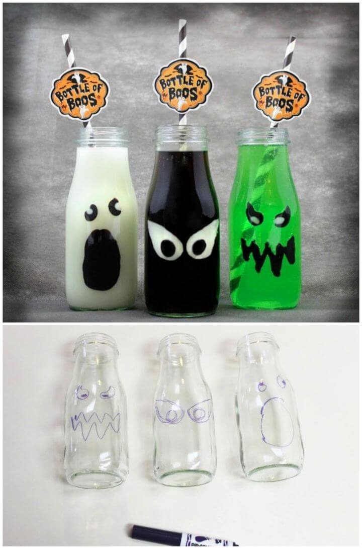 How To Create Bottles of Boos