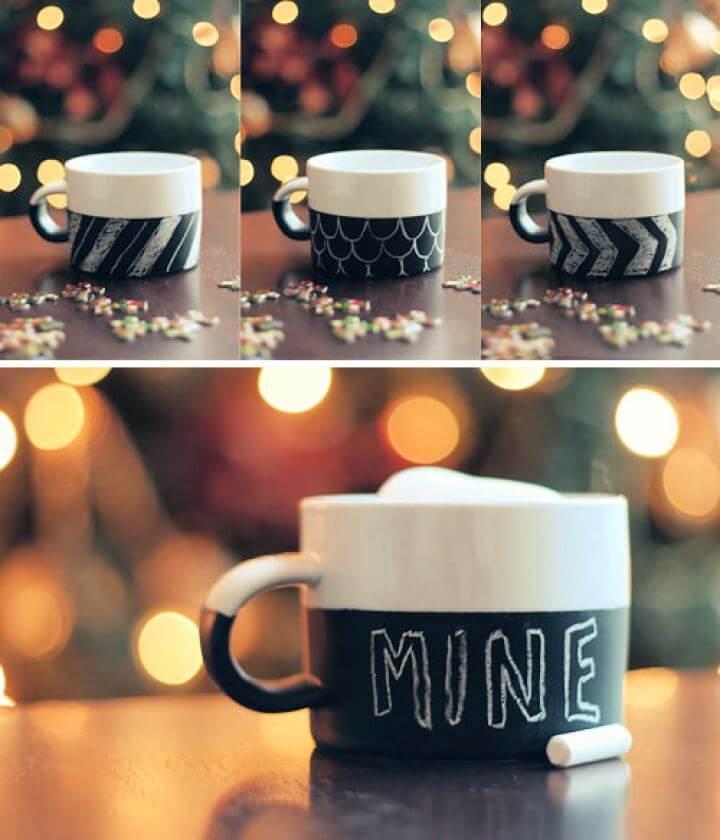 How To Create Chalkboard Mug