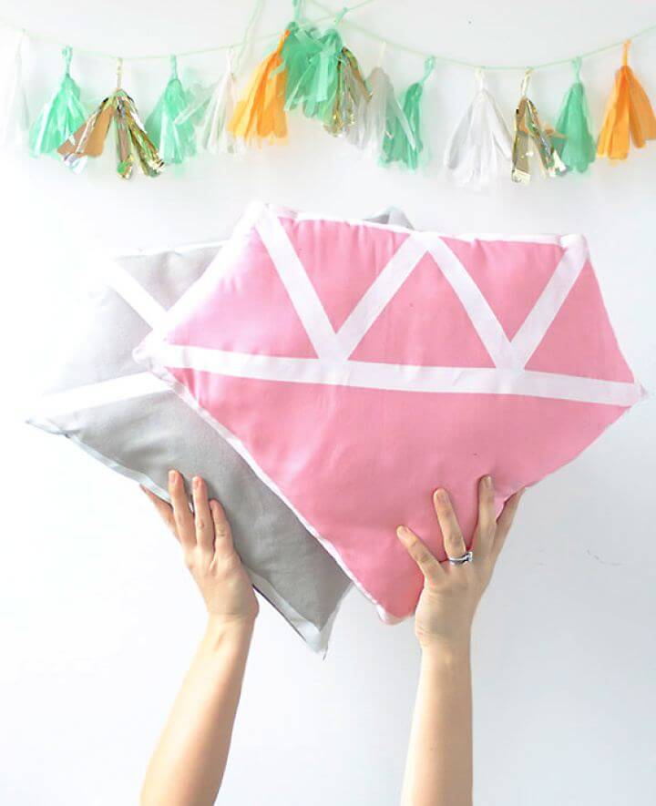 How To Create Diamond Pillow For Home