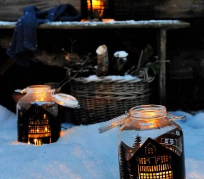 How To Create Mason Jar Lantern