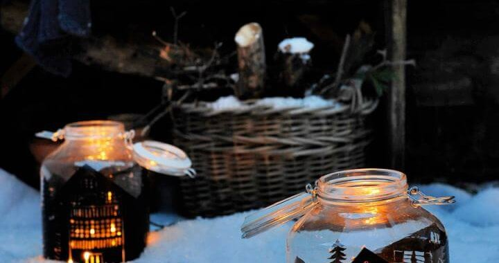 How To Create Mason Jar Lantern