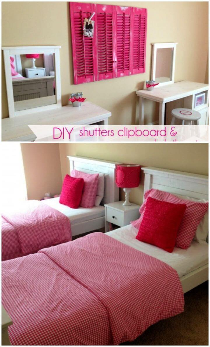 How To Create Shutters Clipboard For Room