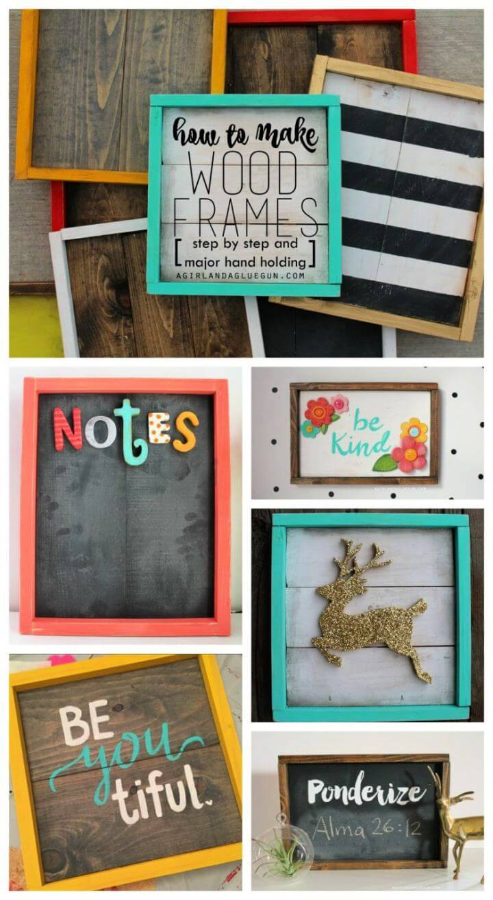 How To Create Wood Picture Frames